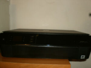 HP Envy 4500 e Printer, Scan, Copy, Photo Powers On, Sold As Is