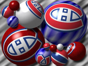 Dallas vs Canadiens -October 30-Rouge/Reds 103 Rangee/Row 'G'