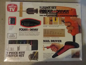 11 piece power driver set