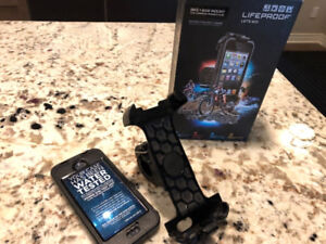 LifeProof iPhone (SE/5s/5) BIKE MOUNT and Case – by LifeProof