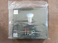 Philips Hue White and Colour Ambiance Wireless Lighting E27 Starter Kit
