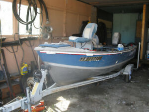 boat,motor and trailer for sale