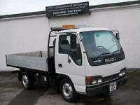 ISUZU GRAFTER NKR ALLOY DROP SIDE IDEAL TIPPER LIKE CANTER NQR EXPORT TRUCK