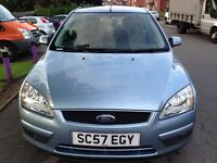 FORD FOCUS, 2007, LOW MILAGE , EXCELLENT CONDITION , SERVICE HISTORY, GOING CHEAP