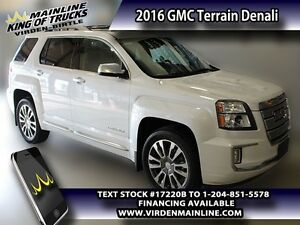 2016 GMC Terrain Denali  - IntelliLink -  Navigation - $255.55 B
