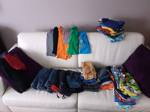 Large lot of boys 4t & 5t clothes