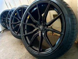 """22"""" Range Rover spider Alloy wheels mint condition"""