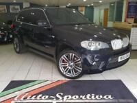 2010 BMW X5 3.0 30d M Sport xDrive 5dr Diesel black Automatic