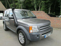 2008 (08) LAND ROVER DISCOVERY 3 2.7 TDV6 XS 4X4 UTILITY + REAR SEATS