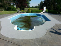 Pool Deck ReSurfacing