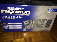 Mastercraft socket set metric and imperial