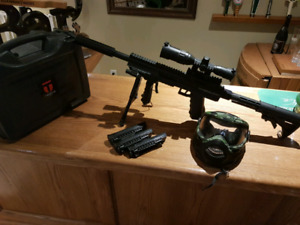 Tiberius Arms T9.1 paintball sniper rifle