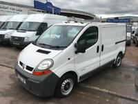 2006 06 RENAULT TRAFIC VAN 1.9 DCI TURBO DIESEL RECENT NEW ENGINE NO VAT NEW MOT