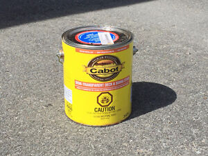Cabot Semi-Transparent Deck and Siding Stain (Taupe colour)
