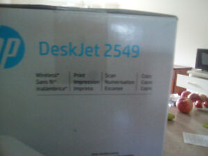 Imprimante HP 2549 neuve