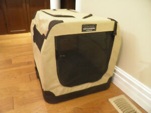 petnation port a crate 2 collapsible fabric crate