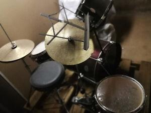 First Act 5 piece drum set