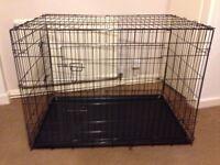 Large dog cage hardly used