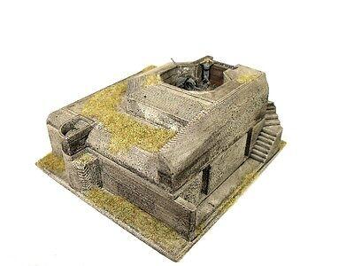 L 409 Bunker Westwall Atlantikwall Wehrmacht  WWII  Regelbau  WWII  Bausatz 1:72