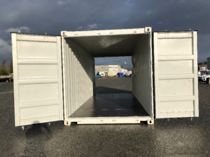 20' DOUBLE DOOR SHIPPING CONTAINER ARE HERE