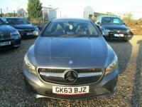 2013 Mercedes-Benz CLA 1.6 CLA180 SPORT 4d 122 BHP Coupe Petrol Manual
