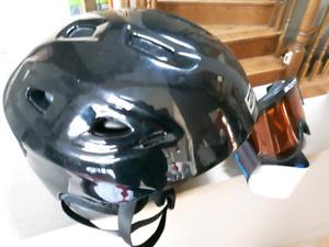 Ski Helmet ( large )with Goggles
