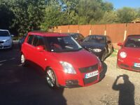 SUZUKI SWIFT 1.6 VVT SPORT.
