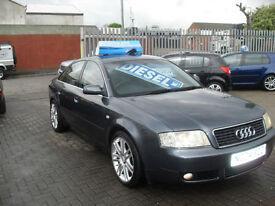 Audi A6 Saloon 1.9TDI 130 6sp 2004 SE