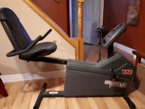 Recumbent Exercise Bike Universal Fitness MBR850 - For Sale