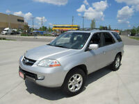 2002 Acura MDX 7 pass , AWD,Leather,roof Up to 3 years warranty.