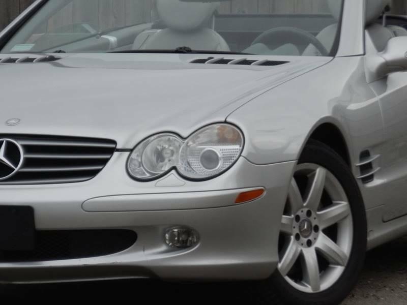 Image 2 Voiture Européenne d'occasion Mercedes-Benz SL-Class 2003