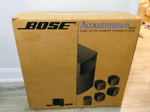 Bose Acoustimass6 home entertainment