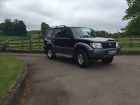 TOYOTA LANDCRUISER COLORADO 3.4 AUTO UK MODEL 7 SEATER