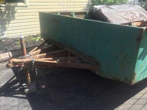 8ft x 16ft steel utility trailer, single axle