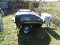 Small car or Motorcyle bugage or trailer
