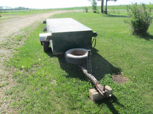 Ubuilt boat trailer with storage