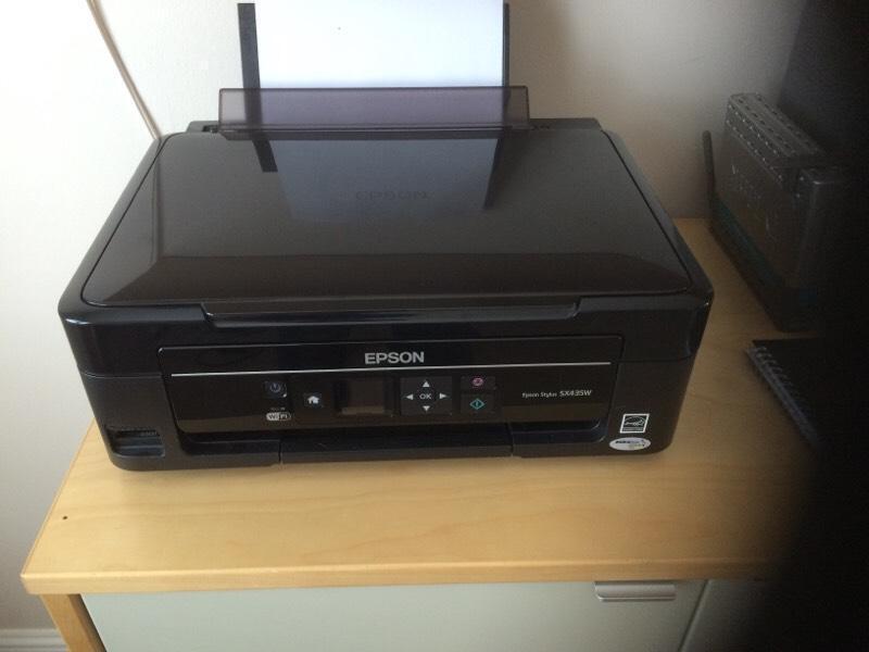 epson stylus sx435w wifi printer in johnstone renfrewshire gumtree. Black Bedroom Furniture Sets. Home Design Ideas
