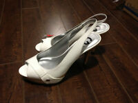 GUESS Women's White Shoes - Size 10M - Brand New.