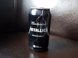Budweiser Metallica limited edition can