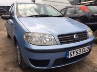 Fiat punto 1.2 5 door new mot