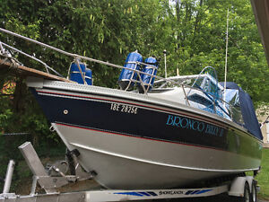 25 ft. Lund Boat