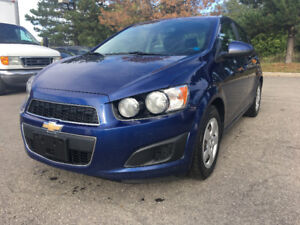 2014 Chevrolet Sonic LT Safety Only $8888