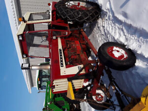 For Sale: Farmall 806 tractor with snowplow and 7 ft. Snowblower