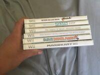 3 wii games