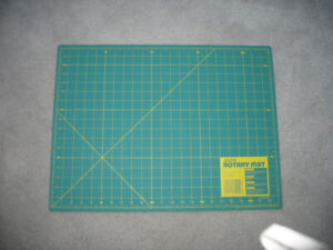 OLFA rotary mat used in sewing
