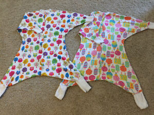 ZipadeeZip Flying Squirrel PJs size 2/3 - $20 ea or $30 for both