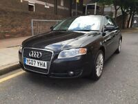 Audi A4 TDI Auto Diesel 07REG service history and all previous MOT