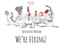 Absurd Bird Soho - Head Chef and CDP's wanted! Great rate of pay plus 12.5% service charge
