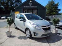 Chevrolet Spark 1.2 LS (silver) 2011