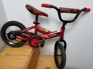 Lightning McQueen bike for toddler boy - $60